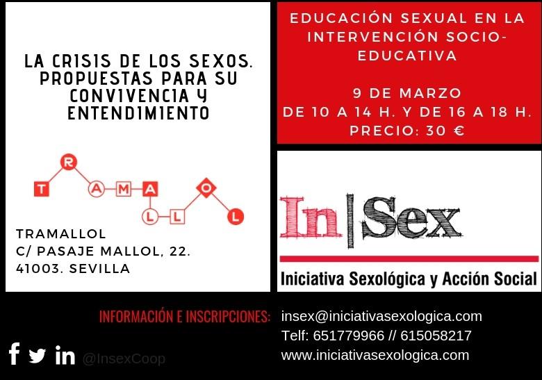 CURSO DE EDUCACIÓN SEXUAL: LA CRISIS DE LOS SEXOS