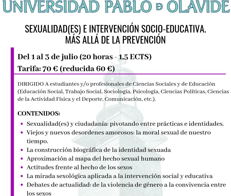 CURSO DE SEXOLOGÍA UNIVERSIDAD PABLO OLAVIDE