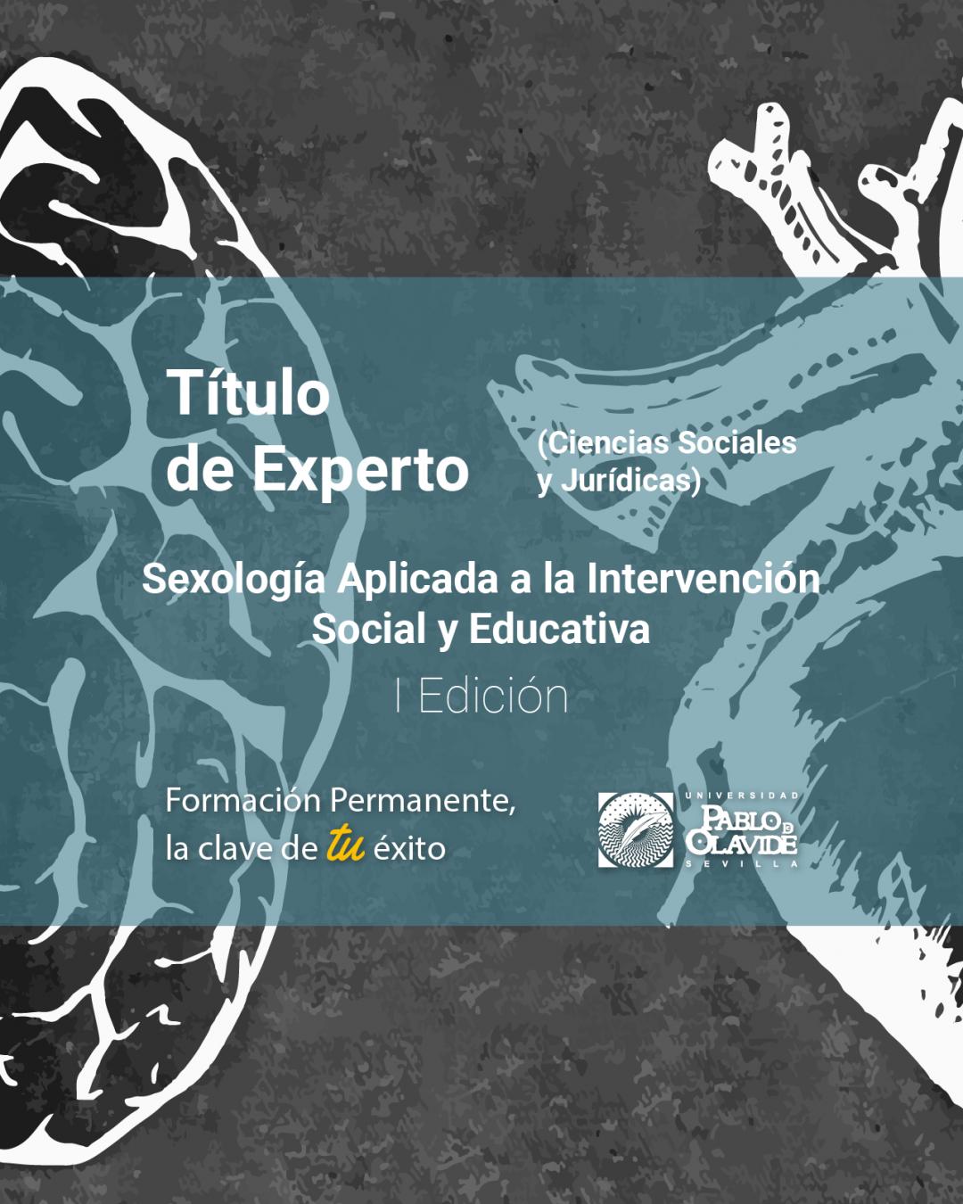 Título Experto en Sexología Universidad Pablo de Olavide (I edición)