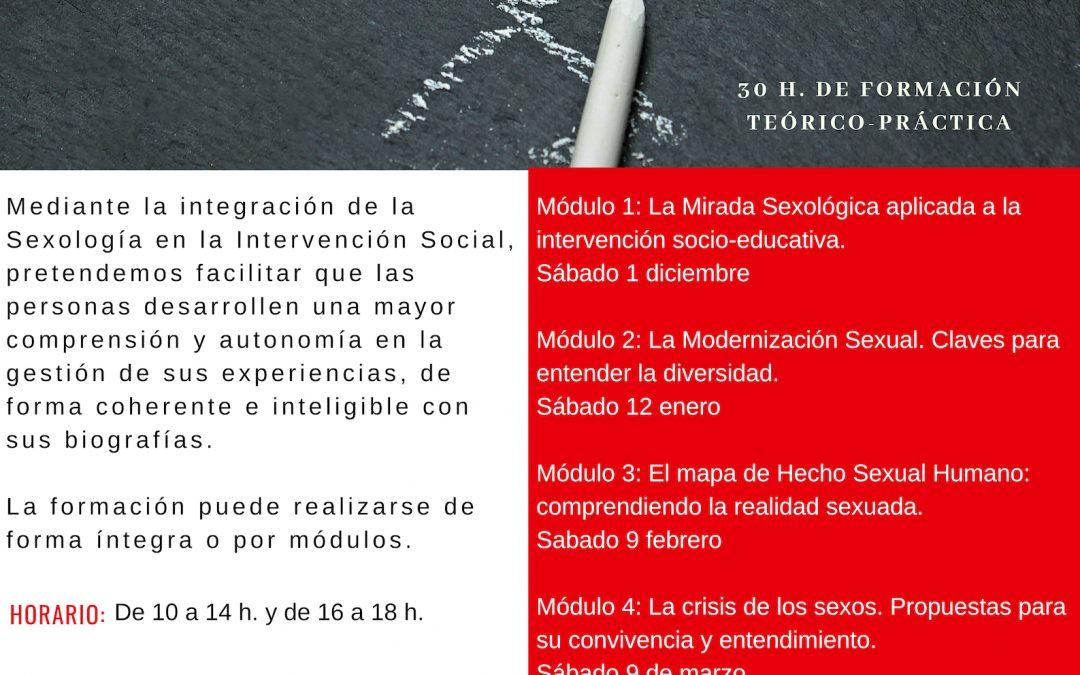 CURSO DE EDUCACIÓN SEXUAL EN LA INTERVENCIÓN SOCIO-EDUCATIVA