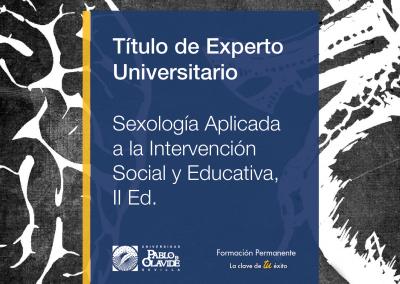 Experto en Sexología aplicada a la intervención social y educativa (II Edición)