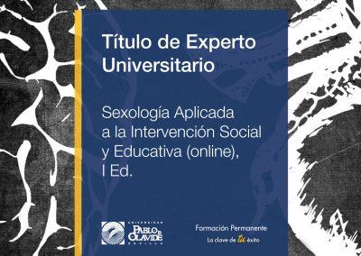 Experto en Sexología aplicada a la intervención social y educativa (I Edición Online)